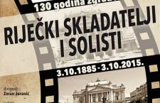Riječki skladatelji i solisti plakat