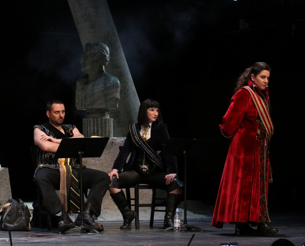 Julije Cezar_ Dario Bercich, Sonja Runje, Diana Haller
