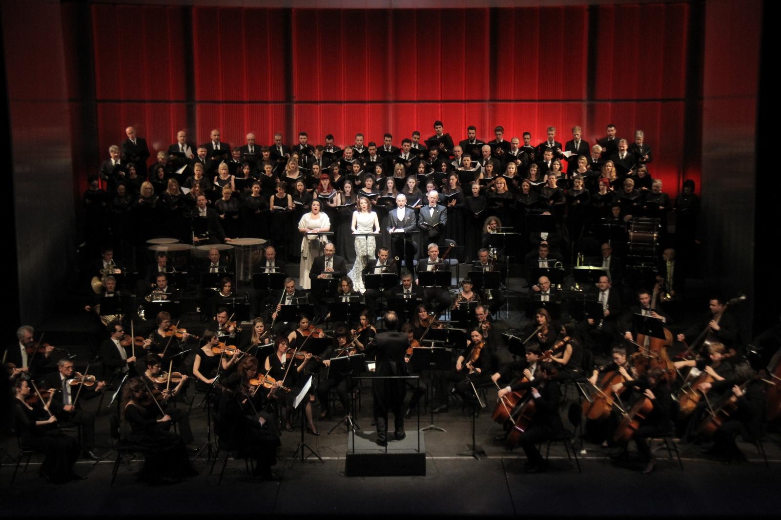 Solisti, Tibor Boganyi, Orkestar Opere HNK Ivana pl. Zajca i Akademski mješoviti zbor Muzičke akademije Sveučilišta Jurja Dobrile u Puli