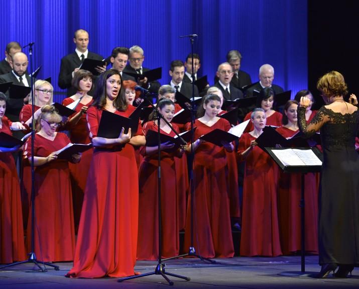 Ivanica Vunić, Nicoleta Olivieri i zbor Opere. JPG