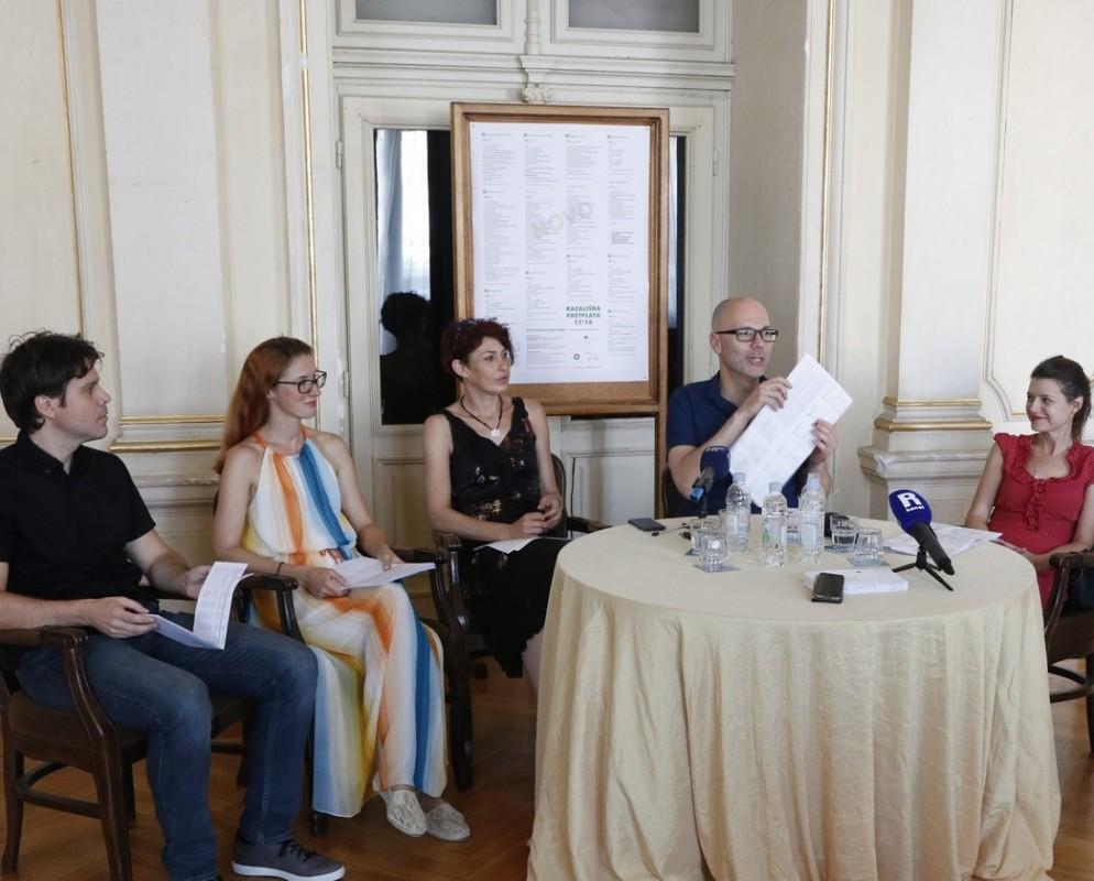 Jelena Kovačić, Kristina Kaplan, Marin Blažević, Rosanna Bubola i Petar Kovačić
