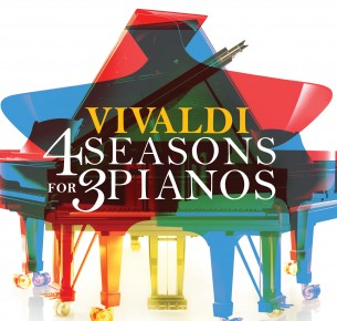 Vivaldi 4 Seasons for 3 Pianos, Matej Mestrovic, Matija Dedic, Hakan Ali Toker Courtesy of Navona Records
