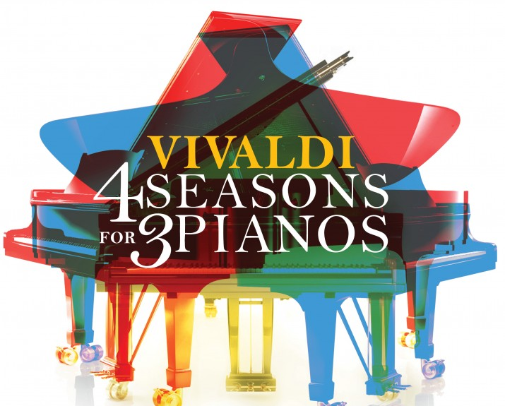 Vivaldi 4 Seasons for 3 Pianos, Matej Mestrovic, Matija Dedic, Hakan Ali Toker Courtesy of Navona Records