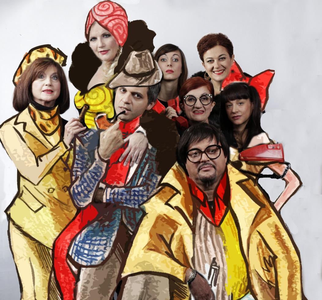 Elvia Nacinovich, Leonora Surian Popov, Mirko Soldano, Elena Cotugno, Anna Paola Vellaccio, Giulia Basel, Ivna Bruck, Bruno Nacinovich