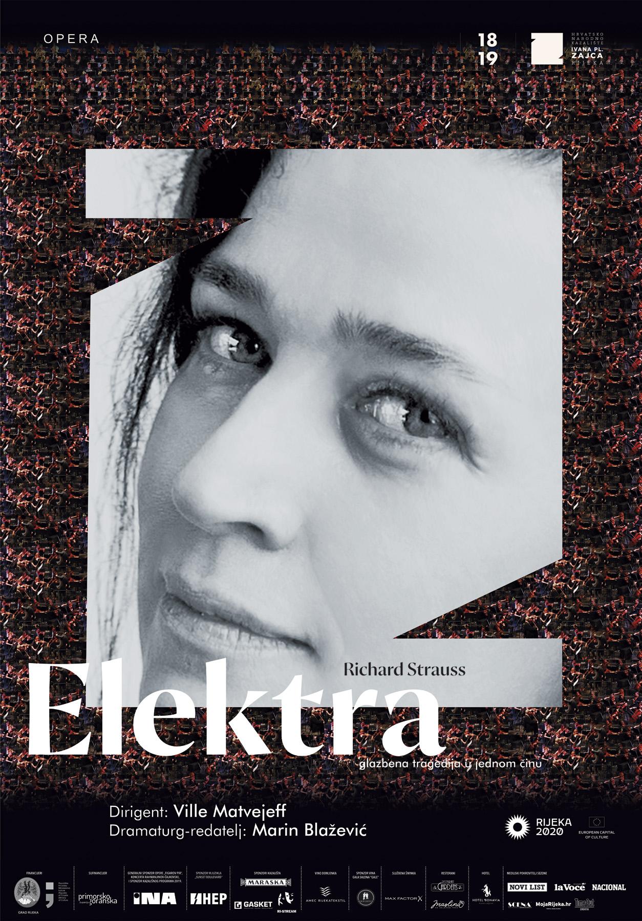 Premijera opere 'Elektra' u riječkom HNK-u