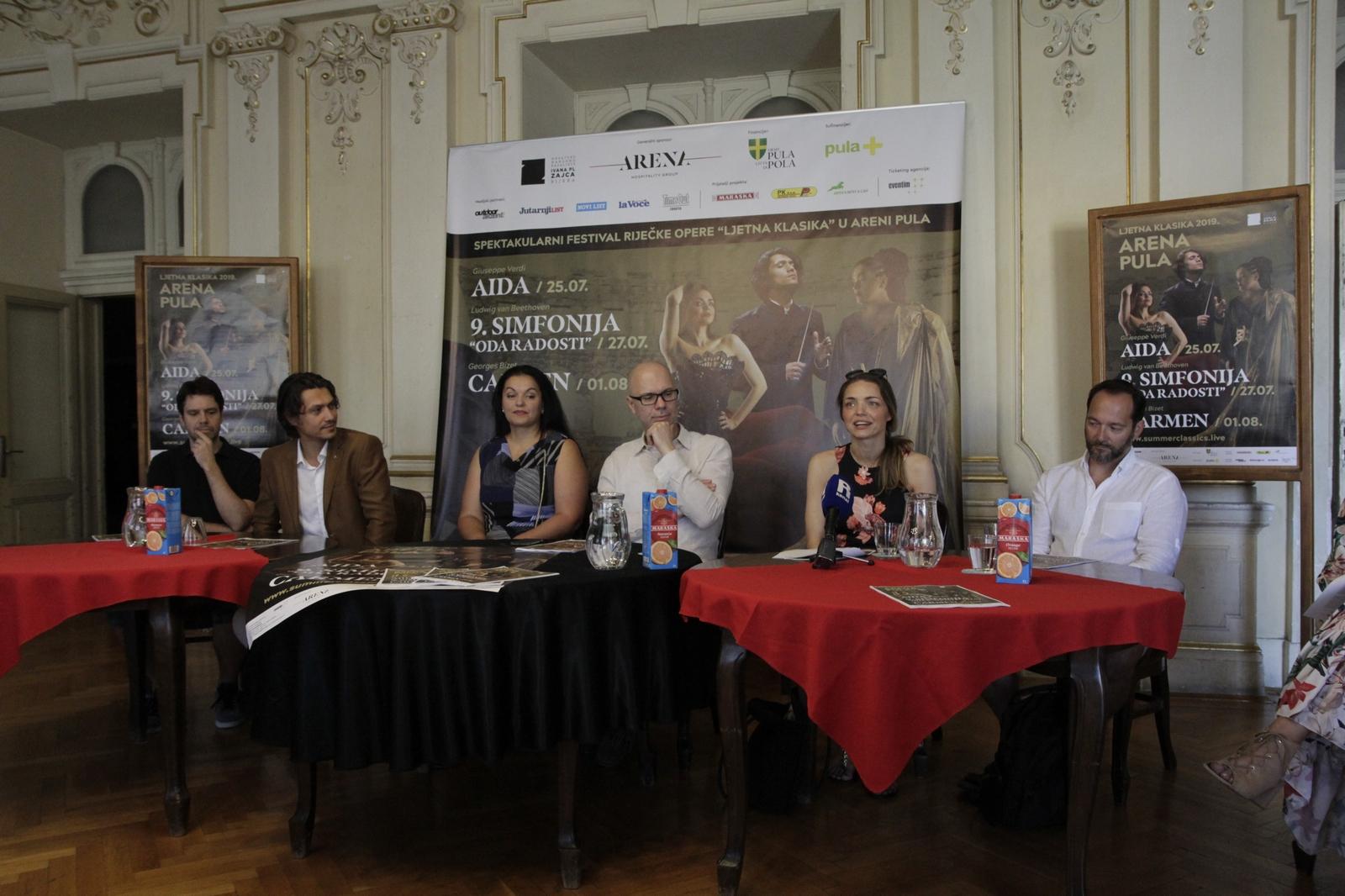 Riječka ljetna klasika u Puli najavljena na press konferenciji