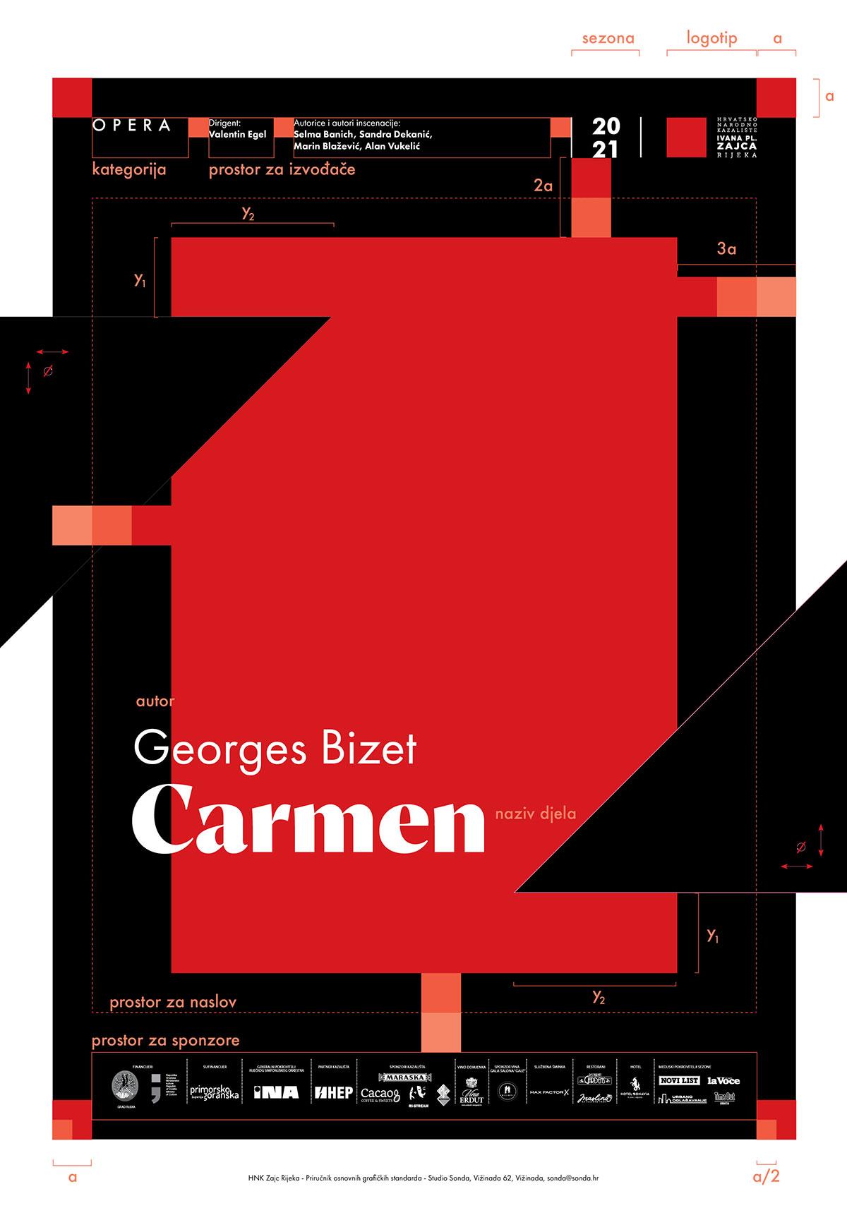 Premijera opere 'Carmen' u riječkom Zajcu