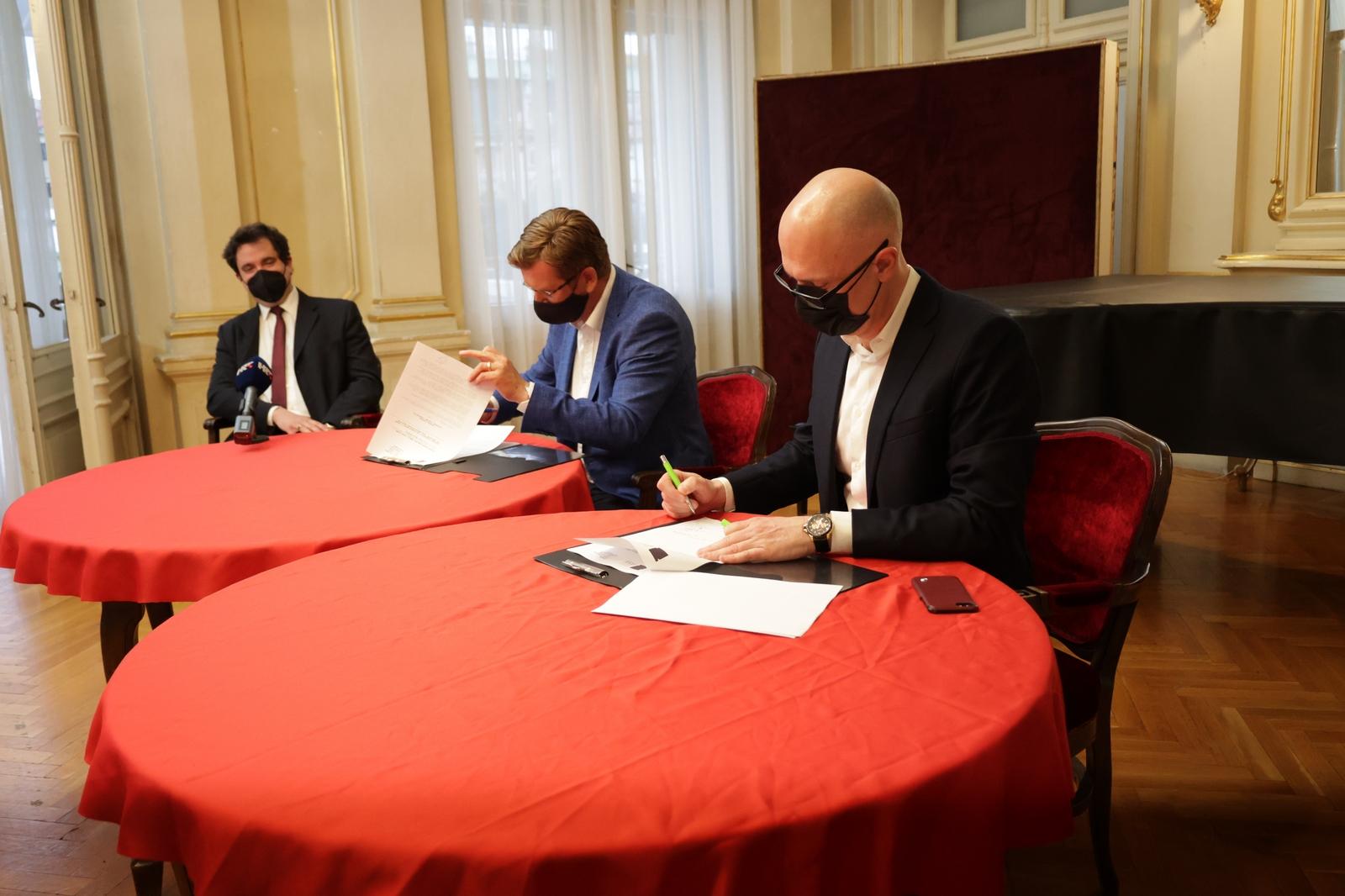 Potpisan sporazum između riječke Opere i Zagrebačke filharmonije